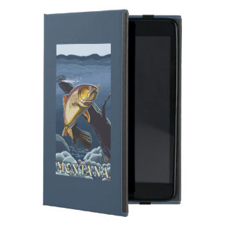 Trout Fishing Cross-Section - Montana Case For iPad Mini