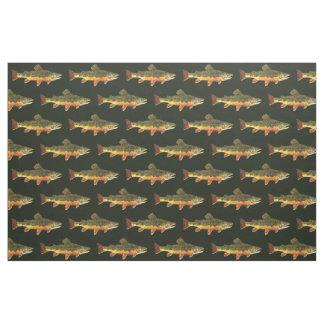 Trout Fishing Fabric