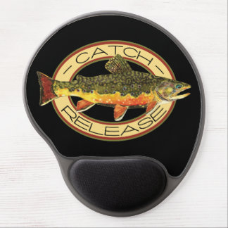 Trout Fishing Gel Mouse Pad