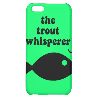 trout fishing iPhone 5C cases