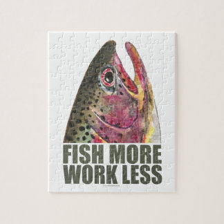 Trout Fishing Jigsaw Puzzle