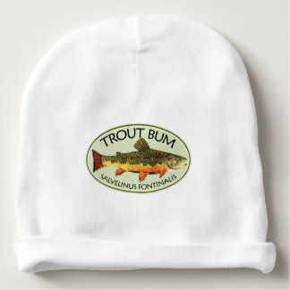 Trout Fishing Lover Baby Beanie