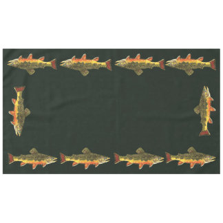 Trout Fishing Tablecloth