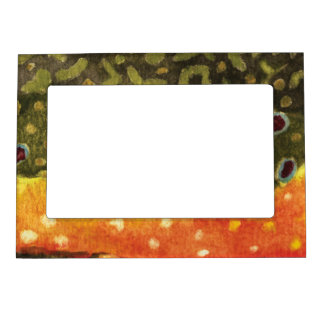 Trout Fishing Memories Magnetic Picture Frame