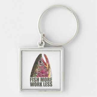 Trout Fishing More Key Chain