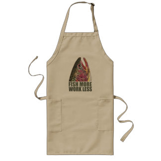 Trout Fishing More Long Apron