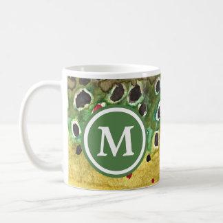 Trout Fishing Classic White Coffee Mug