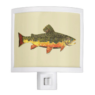 Trout Fishing Night Light