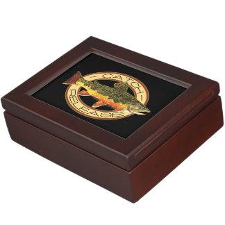 Trout Fishing Memory Boxes