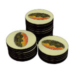 Trout Fishing Set Of Poker Chips
