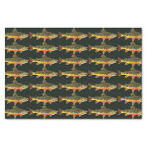 Trout Fishing Tissue Paper