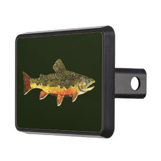 Fishing trailer hitch covers towing hitch covers zazzle for Fish hitch cover