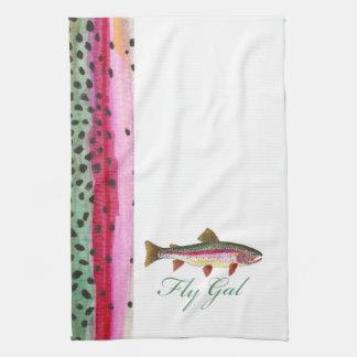 Trout Fishing Women Towel