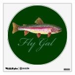 Trout Fishing, Women Wall Graphics