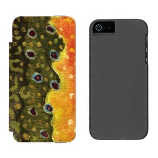 Trout Fishing Incipio Watson™ iPhone 5 Wallet Case