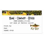 Trout Fly Fisherman Double-Sided Standard Business Cards (Pack Of 100)