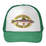 Trout Fly Fisherman Mesh Hat