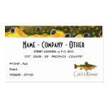 Trout Fly Fishermen Business Cards