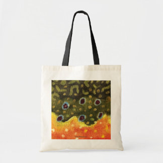 Trout Fly Fishing Canvas Bag
