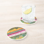 Trout Fly Fishing Beverage Coasters