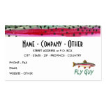 Trout Fly Fishing Double-Sided Standard Business Cards (Pack Of 100)