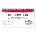 Trout Fly Fishing Business Cards