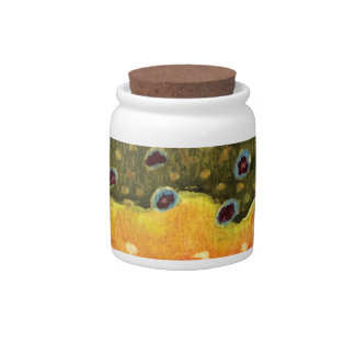 Trout Fly Fishing Candy Jars