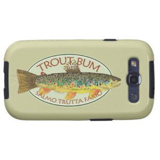 Trout Fly Fishing Samsung Galaxy S3 Covers