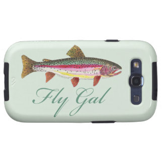 Trout Fly Fishing Samsung Galaxy S3 Cases