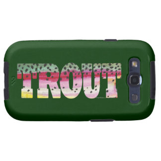Trout Fly Fishing Samsung Galaxy SIII Case