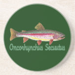 Trout Fly Fishing Coasters