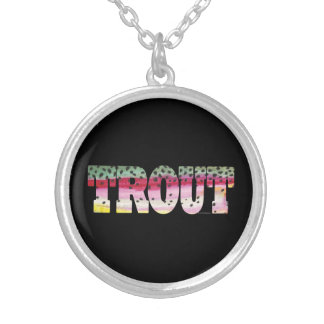 Trout Fly Fishing Custom Jewelry