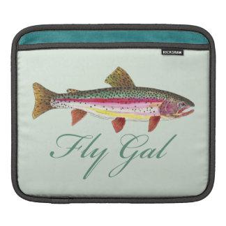 Trout Fly Fishing iPad Sleeve