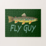 Trout Fly Fishing Jigsaw Puzzle