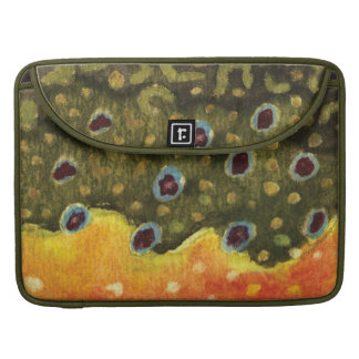 Trout Fly Fishing MacBook Pro Sleeve