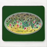 Trout Fly FIshing Mousepads