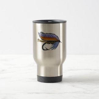 Trout Fly Fishing Mug