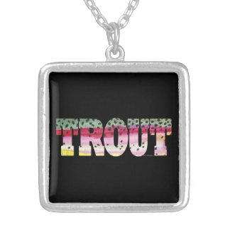 Trout Fly Fishing Necklaces