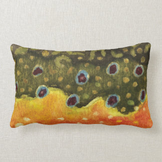 Trout Fly Fishing Pillow