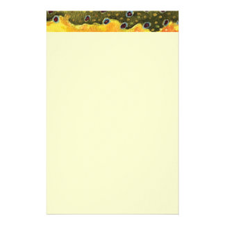 Trout Fly Fishing Stationery
