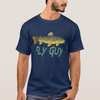 Trout Fly Fishing T-Shirt