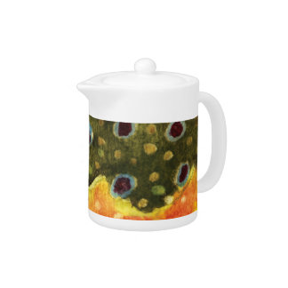 Trout Fly Fishing Teapot