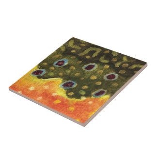 Trout Fly Fishing Tile