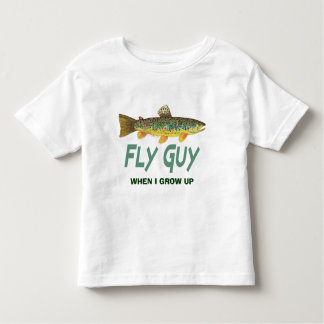 Trout Fly Fishing Toddler T-shirt