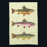 "Trout Fly Fishing Towel<br><div class=""desc"">.</div>"