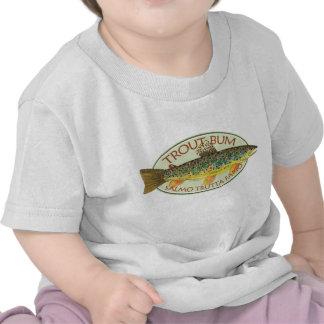 Trout Fly Fishing Tshirts