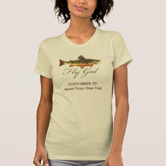 Trout Fly Fishing Woman T Shirt
