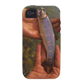 Trout in Hands iPhone 4 Cases
