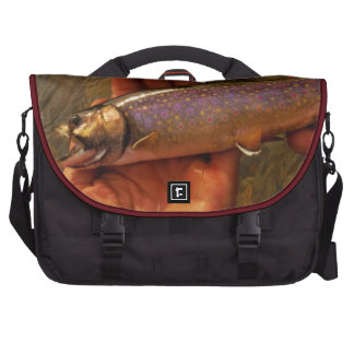 Trout in Hands Computer Bag