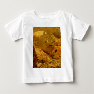 Trout in stream t-shirt